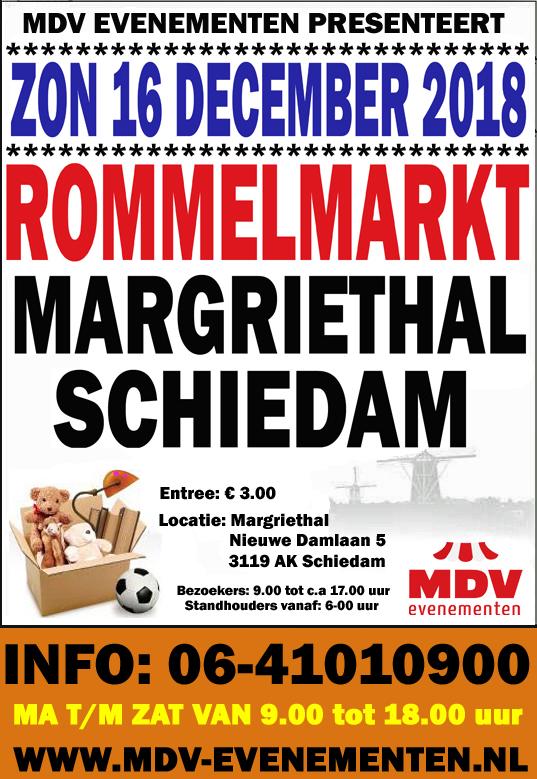 16 December 2018 Rommelmarkt Sporthal Margriet