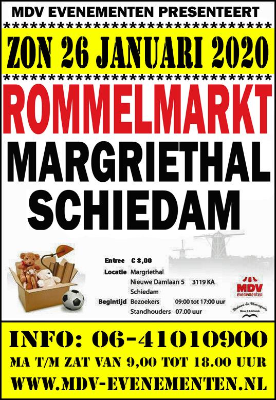 26 Januari 2020 Rommelmarkt  Margriethal Schiedam