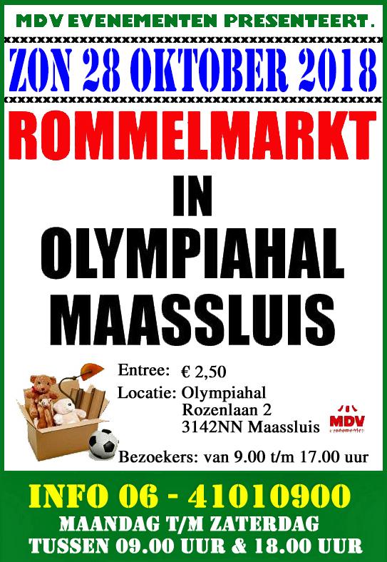 28 Oktober 2108 Rommelmarkt Olympiahal in Maassluis