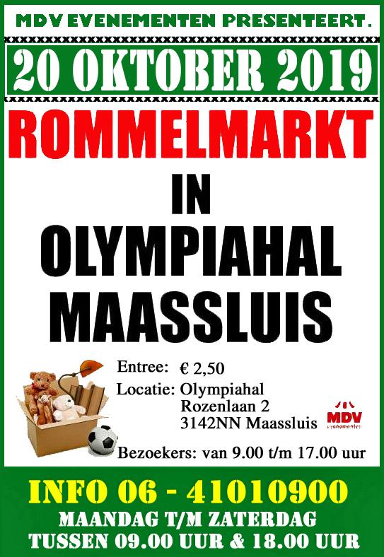 20 Oktober 2019 Rommelmarkt Olympiahal Maassluis
